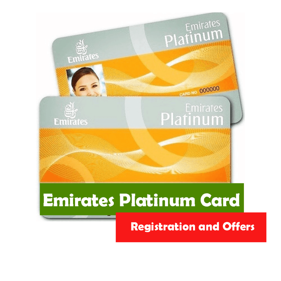 Emirates Platinum Card – Registration and Offers