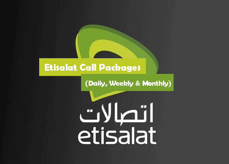 Etisalat Call Packages Daily, Weekly & Monthly