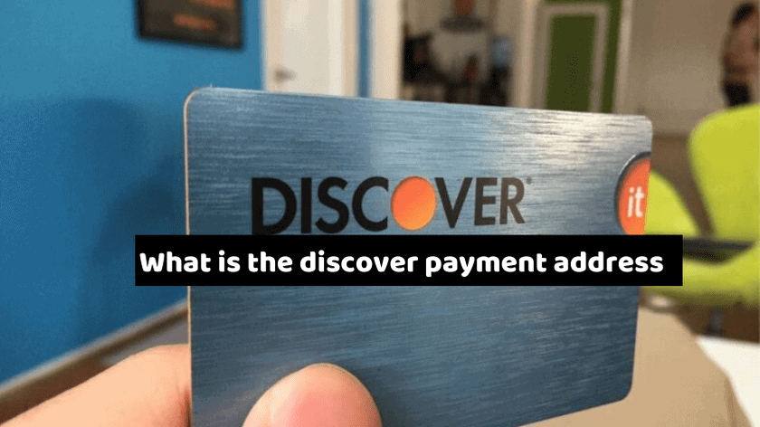 What is the Discover payment address