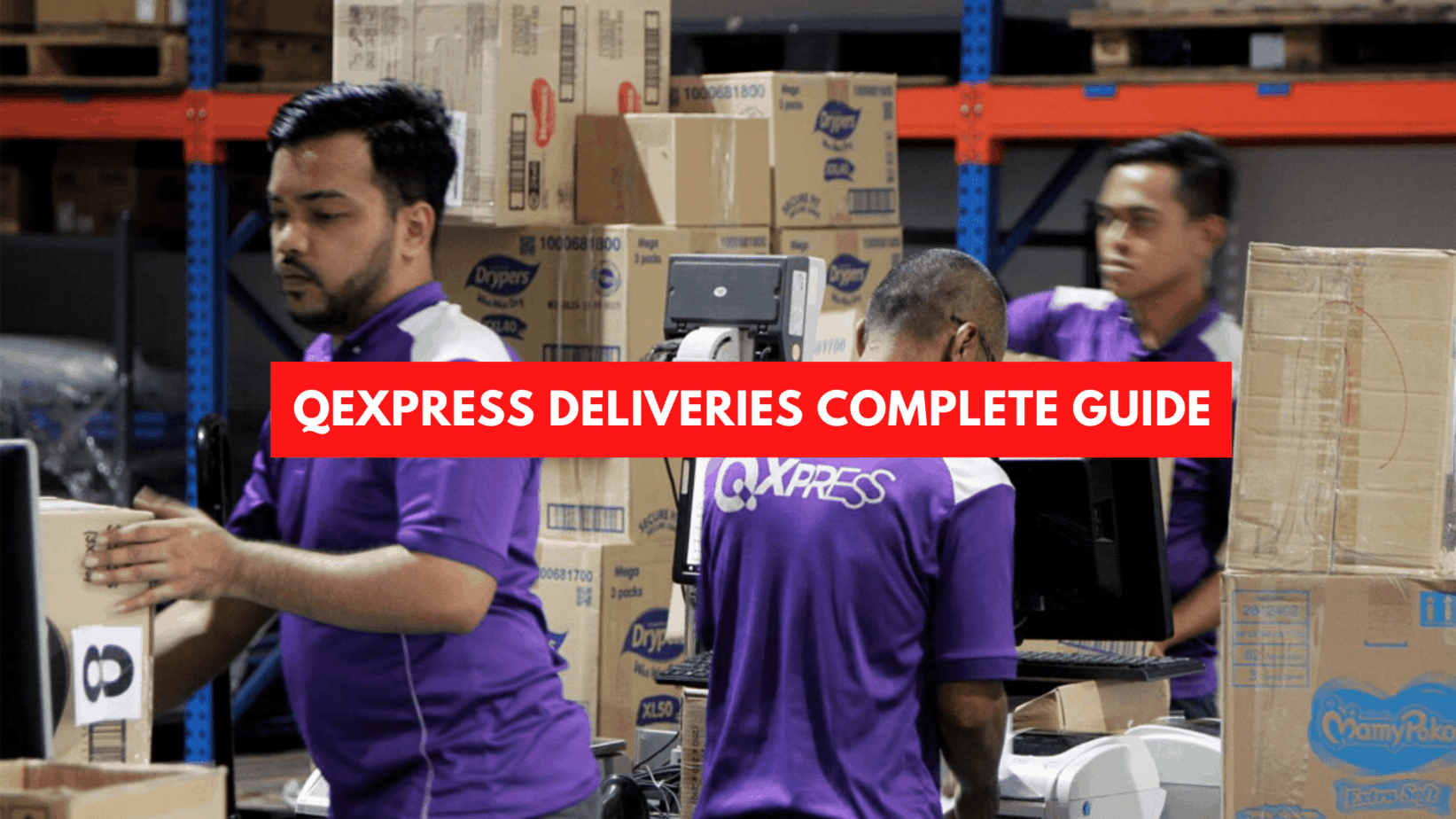 QExpress Deliveries Complete Guide June 2020